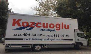 Kozcuoğlu İstanbul Evden Eve Nakliyat Aracı -1