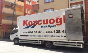 Kozcuoğlu İstanbul Evden Eve Nakliyat Aracı -3