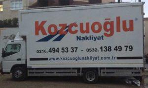 Kozcuoğlu İstanbul Evden Eve Nakliyat Aracı -4