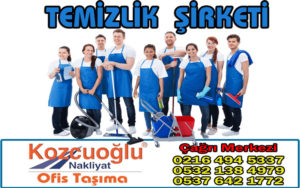 İstanbul Temizlik Şirketi - Kozcuoğlu Evden Eve Nakliyat Firması
