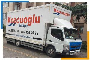 Evden Eve Nakliyat Kamyonu ev taşıma aracı Kozcuoğlu evden eve nakliyat