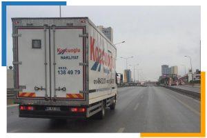 İstanbul Anadolu Yakası Avrupa Yakası ev nakliyat kamyonu Kozcuoğlu nakliye şirketi