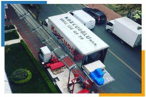 İstanbul Asansörlü evden eve nakliyat kamyonu fiyatları