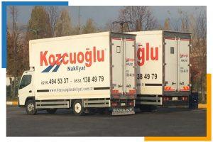 İstanbul Avrupa Yakası Ev Taşıma evden eve nakliye kamyonu Kozcuoğlu Nakliyat