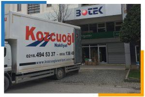 İstanbul işyeri şirket ofis taşıma firması kamyonu aracı