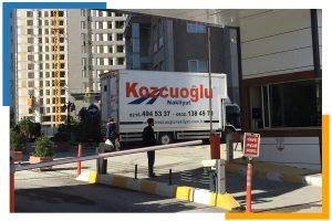 İstanbul kozcuoğlu ev taşıma kamyon araçları evden eve nakliye istanbul