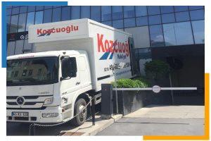 İstanbul Kozcuoğlu Nakliyat araçları kamyonları firmaları