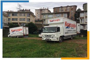 İstanbul Kozcuoğlu Nakliyat evden eve nakliyat kamyonu