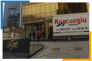 İstanbul Ofis Taşıma Şirketi kamyon aracı Kozcuoğlu Nakliyat Firması