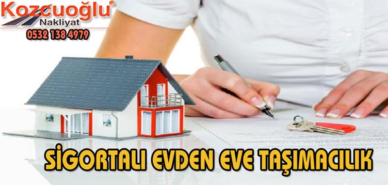 İstanbul sigortalı evden eve nakliyat Ev ofis işyeri taşıma hizmetleri Ankara İzmir İstanbul