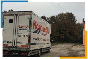 İstanbul uğurlu nakliyat şirketi Kozcuoğlu evden eve nakliyat taşıma aracı