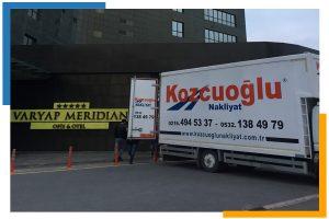 İstanbulda nakliyat kamyonu kiralama Kozcuoğlu Ev Taşıma Kamyonu