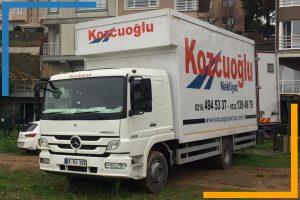 Kozcuoğlu İstanbul evden eve nakliyat şirketi araçları
