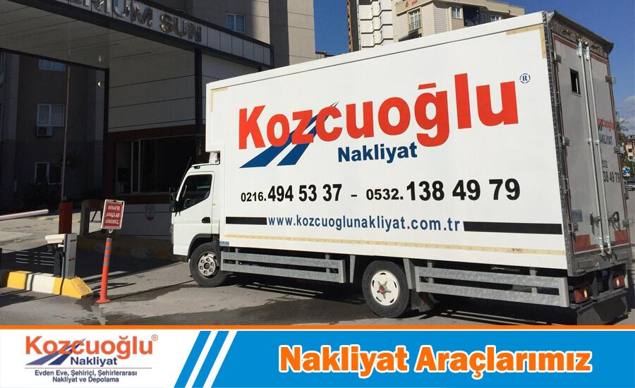 nakliyat araçlarımız evden eve nakliyat kamyonu İstanbul nakliye aracı kiralama