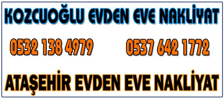 Ataşehir Evden Eve Nakliyat ataşehir nakliyat firması Kozcuoğlu Nakliyat