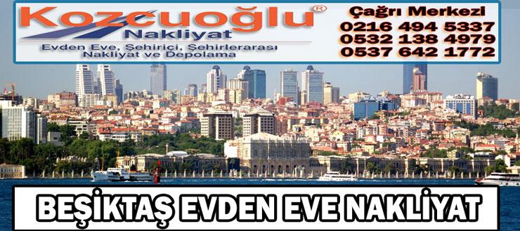Beşiktaş Evden Eve Nakliyat - Kozcuoğlu İstanbul Beşiktaş Nakliyat