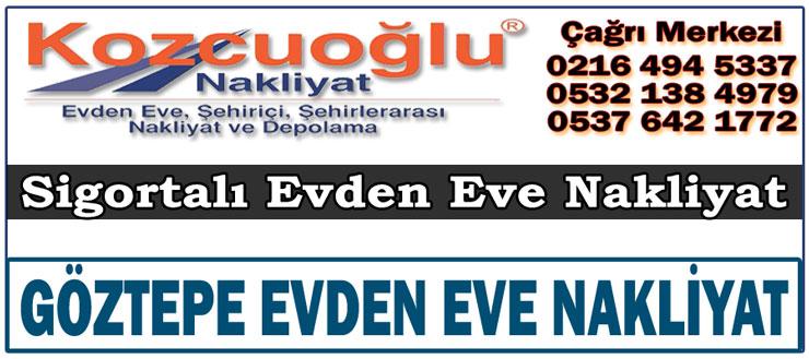 Göztepe Evden Eve Nakliyat Taşımacılık - İstanbul göztepe nakliye fiyatları