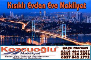 Kısıklı Evden Eve Nakliyat Şirketleri - Kısıklı Nakliyat Firmaları - İstanbul Kozcuoğlu Nakliyat