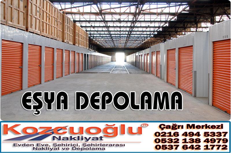 Eşya Depolama İstanbul Ev Eşyası Depolama Şirketi Kozcuoğlu Nakliyat