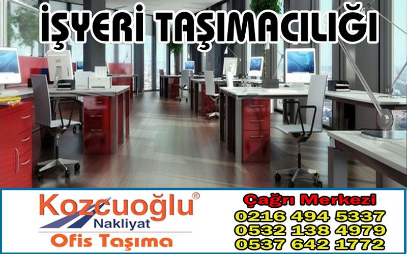 İşyeri taşımacılığı Kozcuoğlu İstanbul evden eve nakliyat şirketi