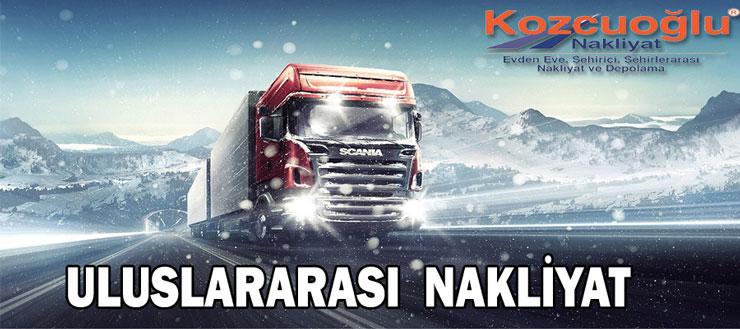 Uluslararası Nakliyat Uluslar Arası Taşıma firması - İstanbul Kozcuoğlu Nakliyat