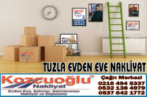 Tuzla Evden Eve Nakliyat Şirketi - Tuzla Nakliyat Firmaları - İstanbul Kozcuoğlu Nakliyat