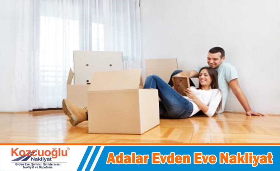 Adalar evden eve nakliyat İstanbul adalar nakliyat firması taşımacılık hizmetleri