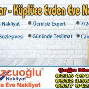 Üsküdar Küplüce Evden Eve Nakliyat - Kozcuoğlu İstanbul Küplüce Nakliyat