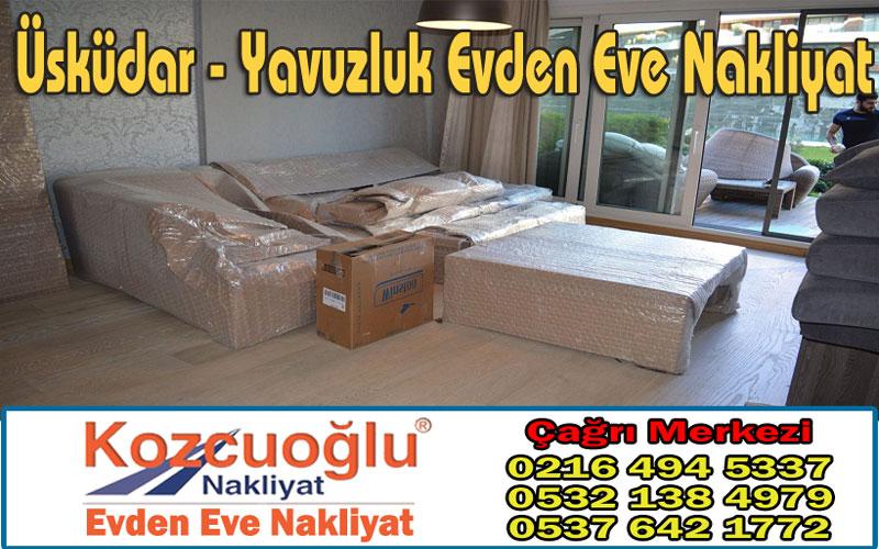 Üsküdar Yavuzluk Evden Eve Nakliyat - Kozcuoğlu İstanbul Yavuzluk Nakliyat Firması