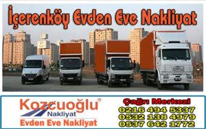 İçerenköy Evden Eve Nakliyat - Kozcuoğlu İstanbul İçerenköy Nakliyat Firması