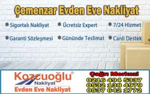 İstanbul Çemenzar Evden Eve Nakliyat - Çemenzar Nakliyat Şirketleri Fiyatları