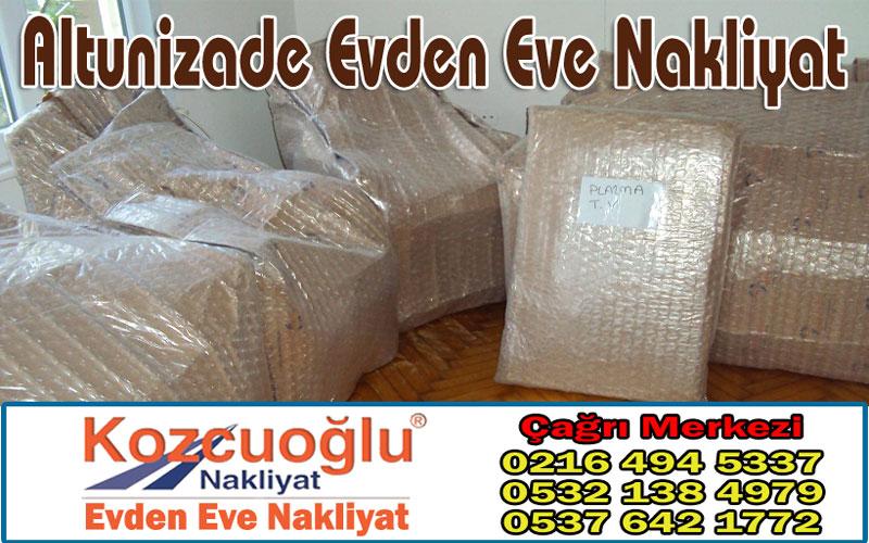 Altunizade Evden Eve Nakliyat - İstanbul Anadolu Yakası Altunizade Nakliyat Taşıma