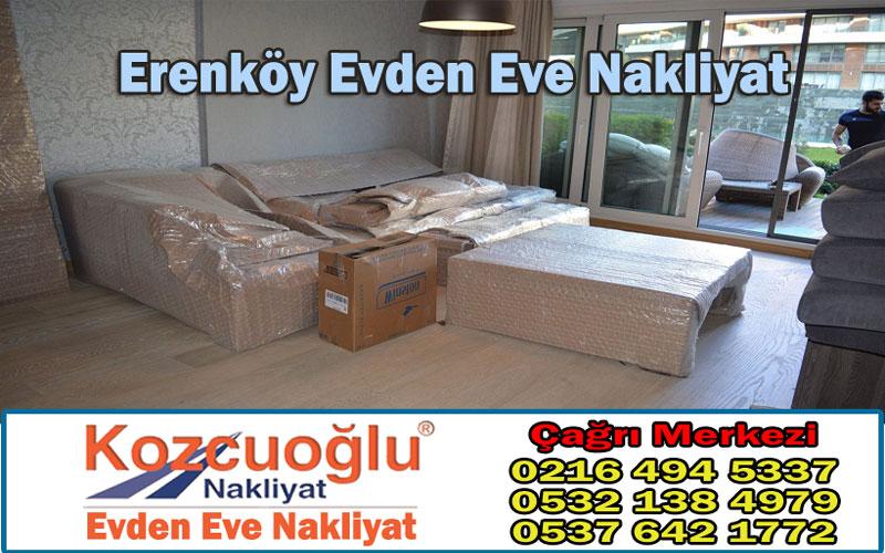 Erenköy Evden Eve Nakliyat Taşımacılık - Kozcuoğlu İstanbul Erenköy Nakliyat