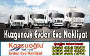 Kuzguncuk Evden Eve Nakliyat - Kozcuoğlu İstanbul Kuzguncuk Nakliyat Firması