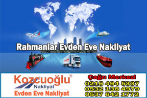 Rahmanlar Evden Eve Nakliyat - İstanbul kartal rahmanlar nakliyat taşımacılık firması