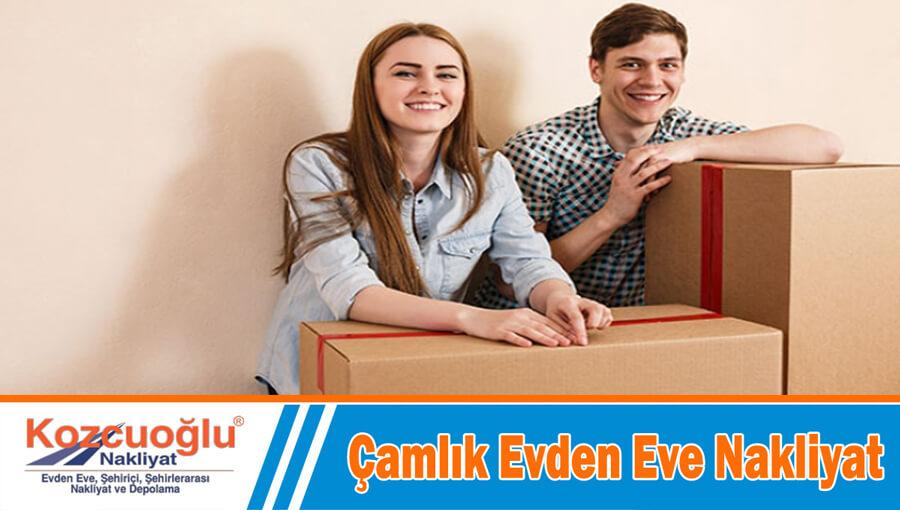 Çamlık evden eve nakliyat İstanbul çamlık nakliyat firması taşıma hizmetleri