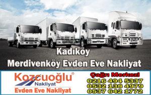 İstanbul Kadıköy Merdivenköy Evden Eve Nakliyat - Merdivenköy Nakliyat Taşıma Şirketi