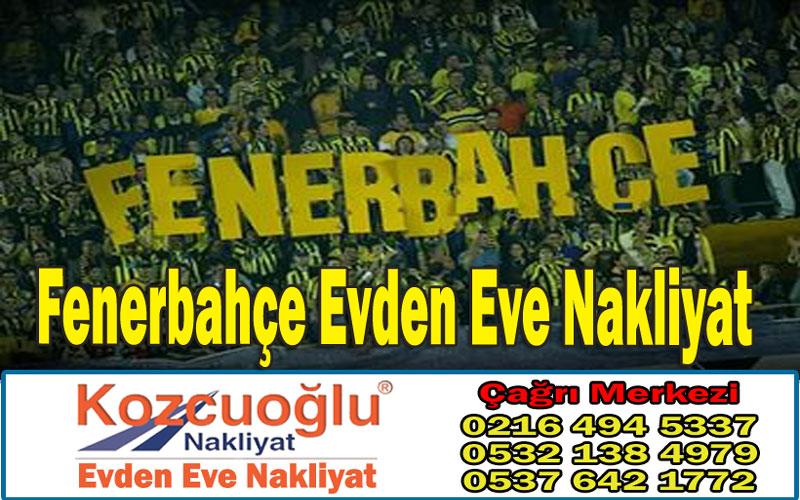 Fenerbahçe Evden Eve Nakliyat