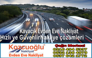 Kavacık Evden Eve Nakliyat - Kozcuoğlu İstanbul Kavacık Nakliyat Taşıma Firması