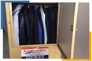 evden eve nakliyat askılı elbise taşıma dolabı Kozcuoğlu Nakliyat