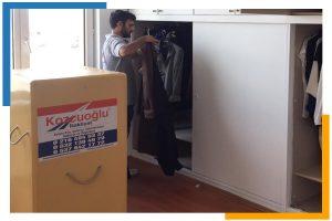İstanbul askılı elbise taşıma nakliye firması Kozcuoğlu Nakliyat Şirketi