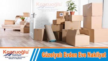 Güzelyalı evden eve nakliyat taşıma Kozcuoğlu İstanbul Pendik Güzelyalı nakliyat şirketi