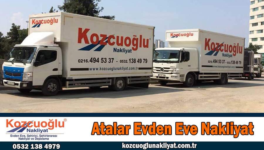 Atalar evden eve nakliyat İstanbul Kartal atalar nakliyat firması