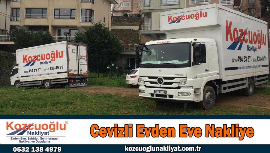 Cevizli evden eve nakliyat İstanbul Kartal cevizli nakliyat firması