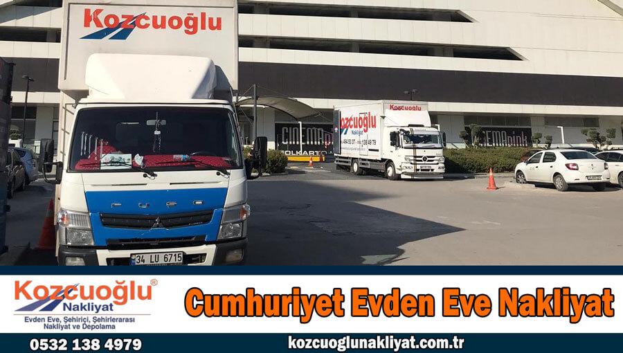 Cumhuriyet evden eve nakliyat İstanbul Kartal cumhuriyet nakliyat firması