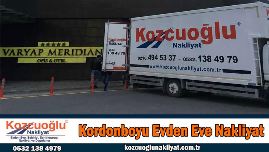 Kordonboyu evden eve nakliyat İstanbul kordonboyu nakliyat firması