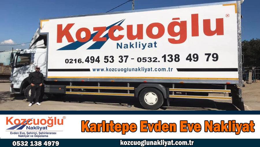 Karlıtepe evden eve nakliyat İstanbul karlıtepe nakliyat fiyatları